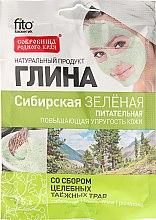 Kup Syberyjska odżywcza glinka zielona z ekstraktami z ziół - FitoKosmetik