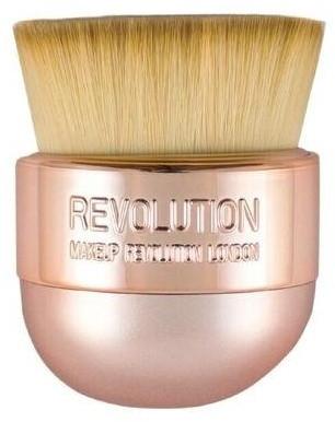 Pędzel do makijażu - Makeup Revolution Oval Precision Kabuki Brush