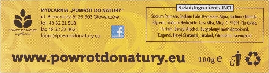 Naturalne mydło z woskiem pszczelim - Powrót do Natury — фото N2