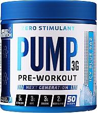 Kup Suplement diety poprawiający wydajność mięśni i ukrwienie - Applied Nutrition Preworkout Icy Blue Raz
