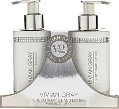 Kup Zestaw - Vivian Gray White Crystals Set (cr/soap/250ml + h/lot/250ml)