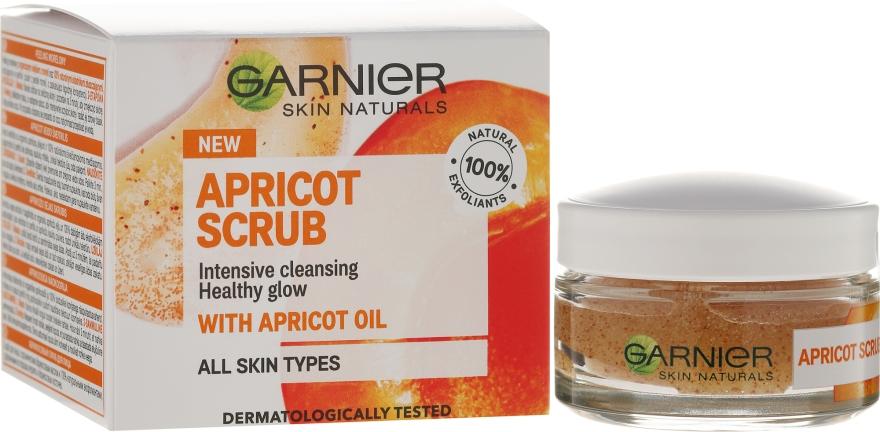 Peeling do twarzy Morela - Garnier Skin Naturals Apricot Face Scrub — фото N1