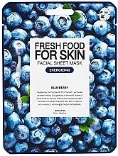 Kup Energetyzująca maseczka w płachcie do twarzy Borówka - Superfood For Skin Facial Sheet Mask Blueberry Energizing