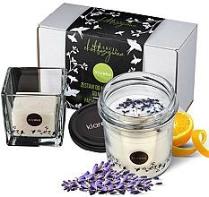 Kup Zestaw świec lawendowych - Klareko (candle/200g + soap)
