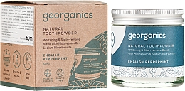 Kup Naturalny proszek do zębów - Georganics English Peppermint Natural Toothpowder