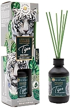 Kup Dyfuzor zapachowy - La Casa de Los Aromas Safari Reed Diffuser Tiger Mistery