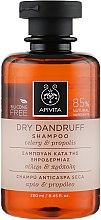 Kup Szampon przeciwłupieżowy - Apivita Shampoo For Dry Dandruff With Celery Propolis