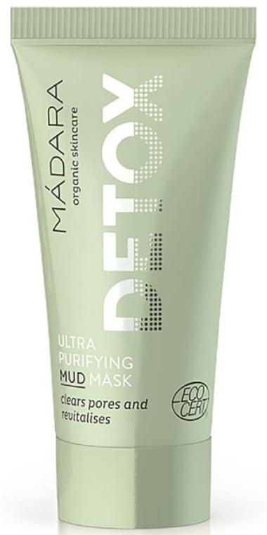 Ultraoczyszczająca maska błotna - Madara Cosmetics Detox Ultra Purifying Mud Mask — фото N1
