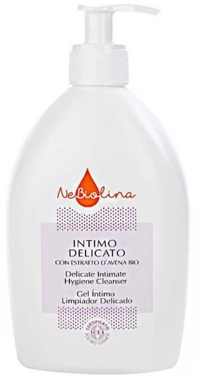 Żel do higieny intymnej - NeBiolina Dermo Detergente Intimo Delicado — фото N1
