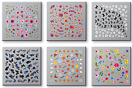 Kup Zestaw naklejek do paznokci 42751 - Top Choice Nail Decorations Stickers Set