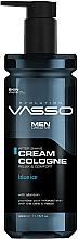 Kup Krem koloński po goleniu - Vasso Professional Men After Shave Cream Cologne Blue Ice