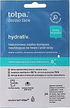 Kup Maska-kompres nawilżająco-odprężająca na twarz, szyję i pod oczy - Tołpa Dermo Face Hydrativ