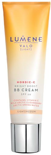 Rozświetlający krem BB - Lumene Valo Bright Boost BB Cream SPF20