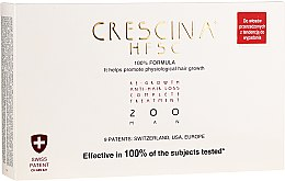 Kup Panaceum na rzednące włosy dla męzczyzn 200 - Crescina Re-Growth HFSC 100% + Crescina Anti-Hair Loss HSSC