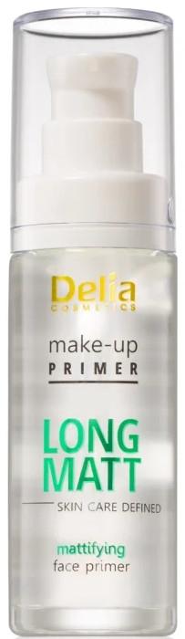 Matująca baza pod makijaż - Delia Long MattMake-Up Primer