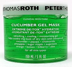Kup Żelowa maska ogórkowa - Peter Thomas Roth Cucumber Gel Mask Extreme De-Tox Hydrator