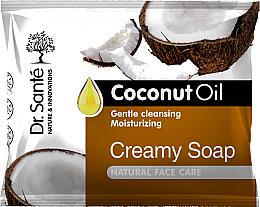 Kup Kremowe mydło w kostce do rąk, ciała i twarzy z olejem kokosowym - Dr. Santé Creamy Soap