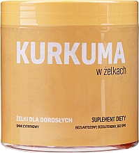 Kup Kurkuma w żelkach Smak cytrynowy - Noble Health Kurkuma Suplement Diety