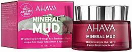 Kup Rozjaśniająco-nawilżająca maska do twarzy - Ahava Mineral Mud Brightening & Hydrating Facial Treatment Mask