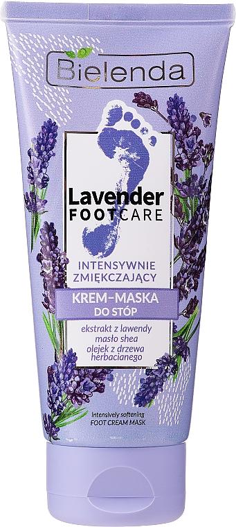 Intensywnie zmiękczający krem-maska do stóp - Bielenda Lavender Foot Care Foot Cream Mask