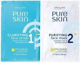 Kup Krem peelingujący i oczyszczająca maseczka do twarzy - Oriflame Pure Skin Face Scrub & Mask