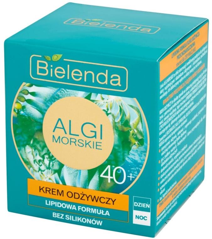 Odżywczy krem lipidowy na dzień i na noc 40+ - Bielenda Algi morskie — фото N2