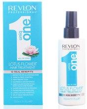 Kup Odżywcza maska w sprayu do włosów 10 w 1 z kwiatem lotosu - Revlon Professional Uniq One Lotus Flower Hair Treatment