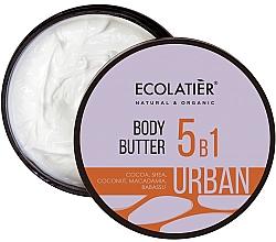Kup Krem do ciała 5 w 1 Kakao, masło shea, kokos, makadamia, babassu - Ecolatier Urban Body Butter