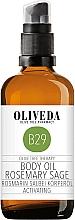 Kup Olejek do ciała Rozmaryn i szałwia - Oliveda Body Oil Rosemary Salbei Activating
