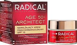 Nawilżający krem przeciwzmarszczkowy SPF 15 - Farmona Radical Age Architect 50+ — фото N1