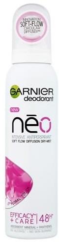 Antyperspirant-dezodorant w sprayu - Garnier Neo Dry-Mist Floral Touch Dezodorant Spray — фото N1