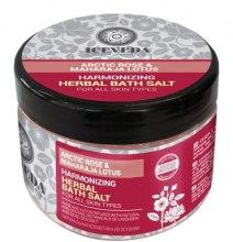 Kup Ziołowa sól do kąpieli - Iceveda Arctic Rose&Maharaja Lotus Harmonizing Herbal Bath Salt