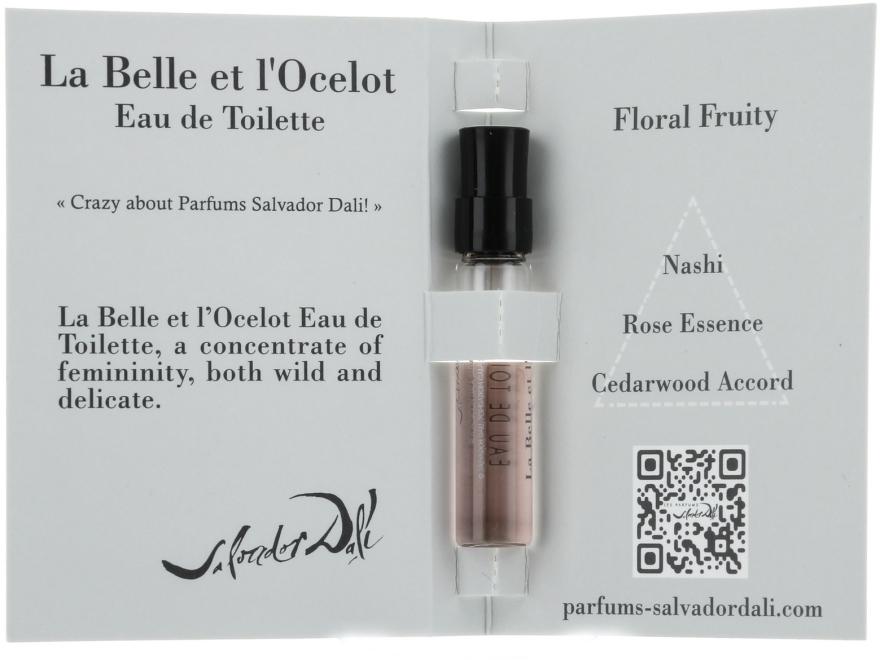 Salvador Dali La Belle et l'Ocelot Eau de Toilette - Woda toaletowa (próbka) — фото N3