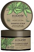 Kup Szampon peelingujący do włosów oczyszczanie i detoks - Ecolatier Organic Aloe Vera Shampoo-Scrub