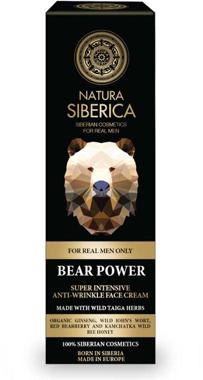 Przeciwzmarszczkowy krem do twarzy dla mężczyzn - Natura Siberica Bear Power — фото N1