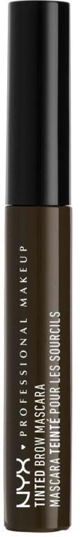 Koloryzujący tusz do brwi - NYX Professional Makeup Tinted Eyebrow Mascara Gel