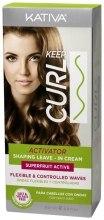 Kup Krem modelujący podkreślający skręt loków - Kativa Keep Curl Activator Leave-In Cream