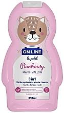 Kup Piankowy żel do mycia ciała, włosów i twarzy 3 w 1 - On Line Le Petit Marshmellow 3 In 1 Hair Body Face Wash