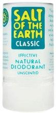Kup Naturalny dezodorant bezzapachowy w sztyfcie - Salt of the Earth Crystal Classic Deodorant