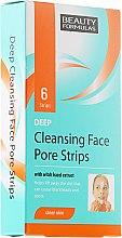 Kup Oczyszczające plastry na brodę i czoło - Beauty Formulas Deep Cleansing Face Pore Strips