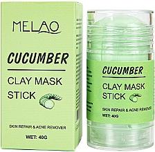 Kup Glinkowa maska w sztyfcie do twarzy Ogórek - Melao Cucumber Clay Mask Stick