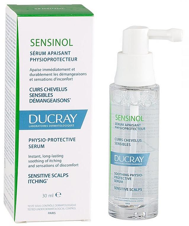 Kojące serum do włosów - Ducray Sensinol Sensinol Soothing Hair Serum — фото N1
