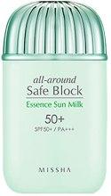 Nawilżające mleczko przeciwsłoneczne SPF 50+/PA+++ - Missha All-Around Safe Block Essence Sun Milk — фото N2