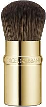 Kup Pędzel do podkładu - Dolce&Gabbana Retractable Kabuki Foundation Brush