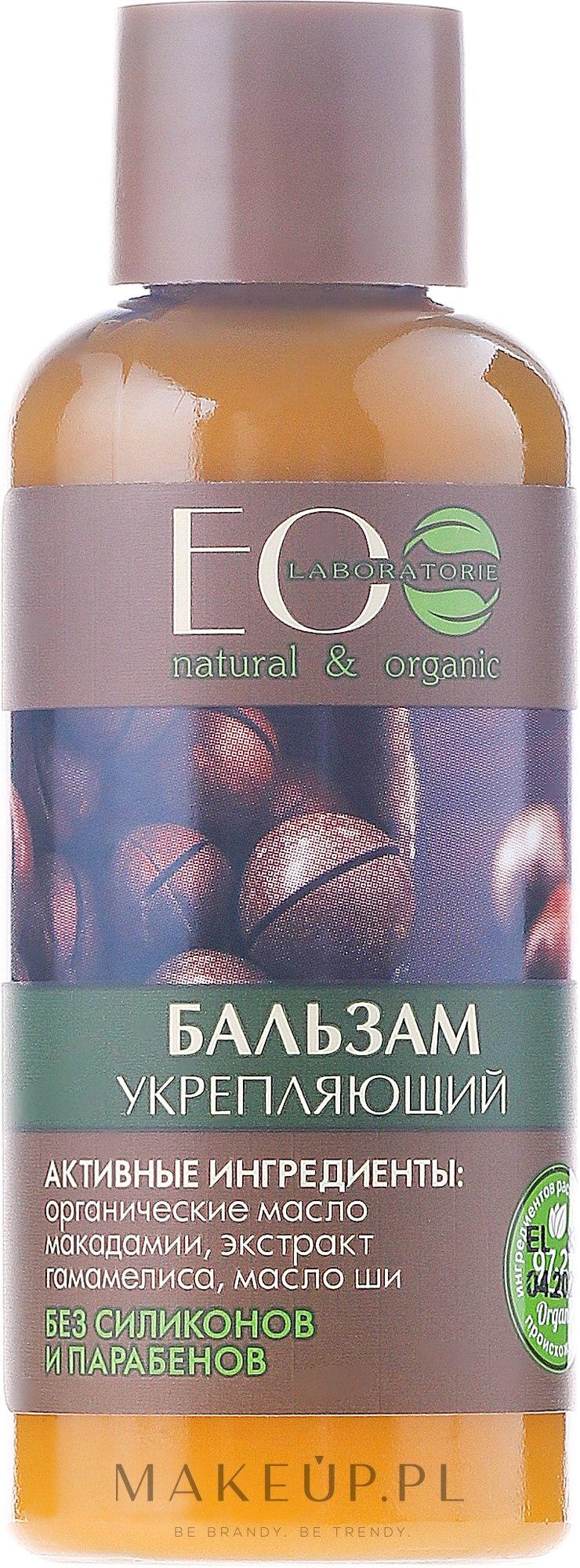 Wzmacniający balsam do włosów Objętość i wzrost - ECO Laboratorie Strenghtening Hair Balm Volume And Hair Growth — фото 50 ml