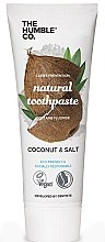 Kup Naturalna pasta do zębów, Kokos - The Humble Co. Natural Toothpaste Coconut & Salt