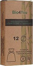 Kup Zestaw płatków kosmetycznych z woreczkiem do prania - Bio4You Beauty Set (12 x pads + laundry bag)
