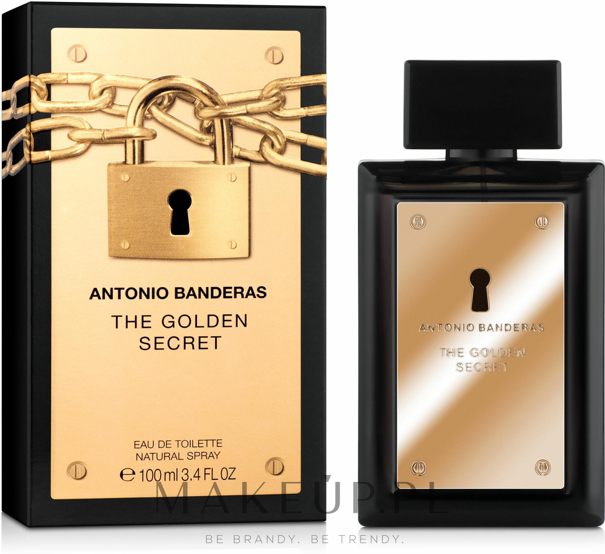 Antonio Banderas The Golden Secret - Woda toaletowa — фото 100 ml