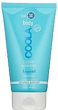 Kup Bezzapachowy krem do ciała - Coola Classic Body SPF 30 Unscented