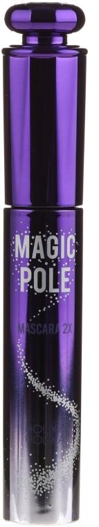 Pogrubiający tusz do rzęs - Holika Holika Magic Pole Mascara 2X Volume & Curl — фото N4
